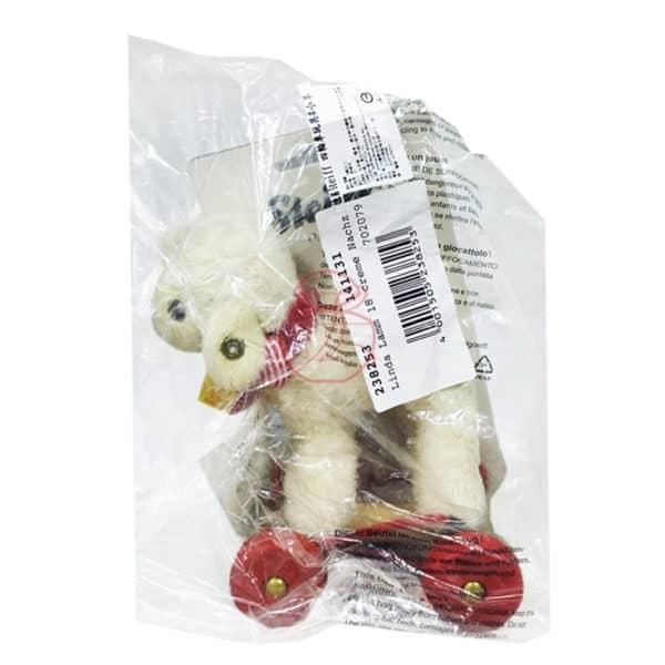 (寶) 德國 Steiff 小羊四輪車玩具