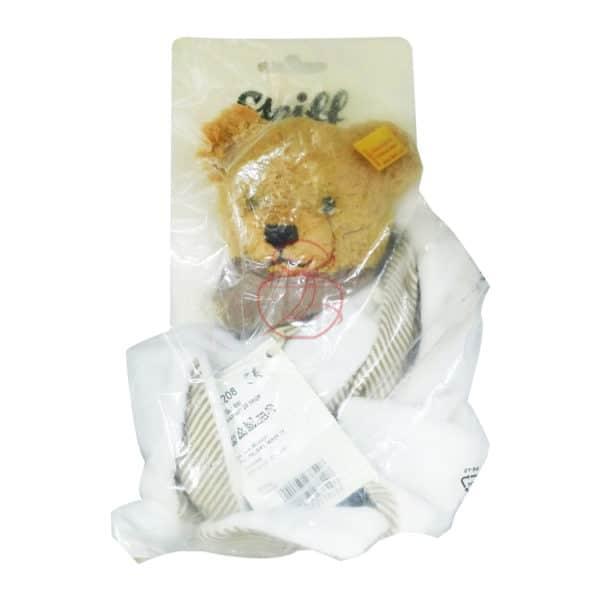 (寶) 德國 Steiff 熊寶寶安撫巾 (白)