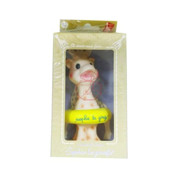 (寶) 法國蘇菲 長頸鹿漂浮 #黃綠