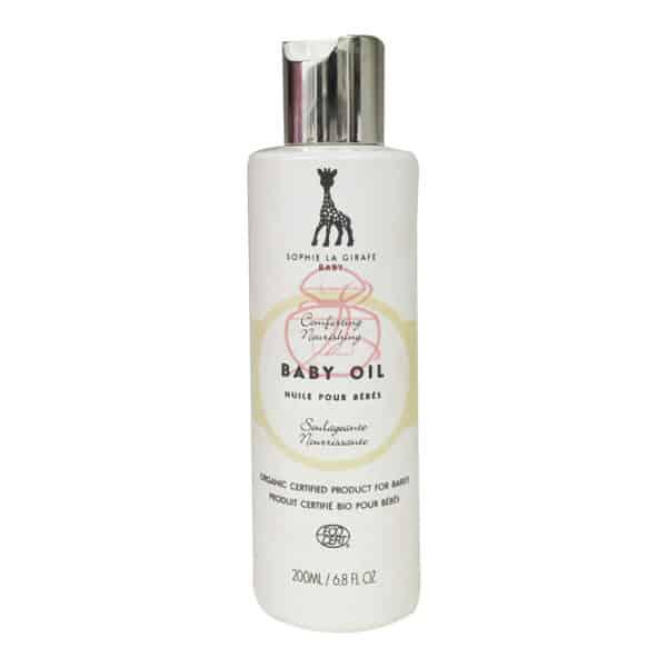 (寶) 法國蘇菲 長頸鹿 嬰兒油(嬰兒按摩油) 200ML (正)