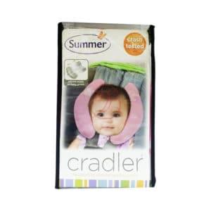 (寶) 美國 Summer Infant 可調式寶寶頭部保護枕 #粉紅