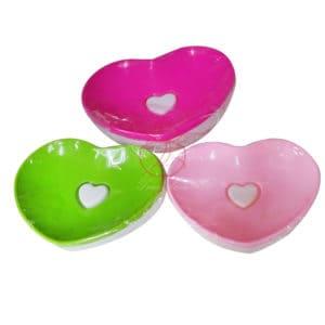 心心相印肥皂盒雙層愛心香皂盒瀝水肥皂盒不挑色