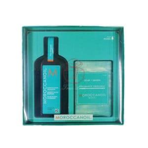 摩洛哥 優油M套組 (優油125ML+香氛沐浴皂200g)