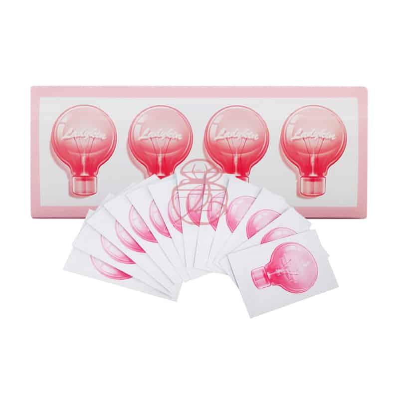 韓國ladykin 補水保濕面部精華 小燈泡面膜