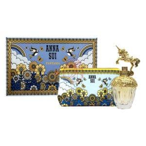 anna sui 安娜蘇 獨角獸童話禮盒(edt30ml+愛情鳥化妝包) (6)