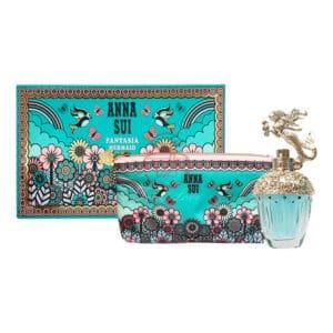 anna sui 安娜蘇 美人魚童話禮盒(edt30ml+愛情鳥化妝包) (1)