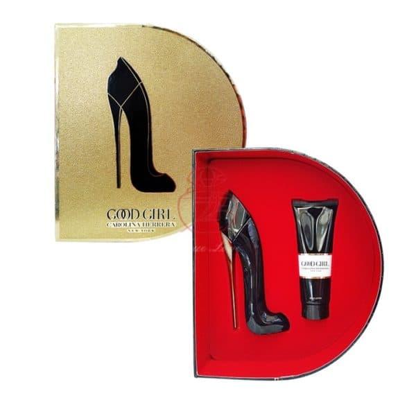 Carolina Herrera Good Girl女性淡香精禮盒(淡香精50ml+身體乳75ml)