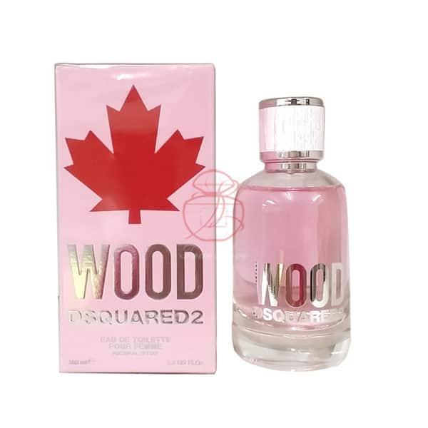 DSQUARED2 WOOD‧天性女性淡香水 EDT 100ML (正)