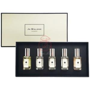 Jo Malone D款 小香禮盒5x9ml(青檸+杏桃花+鼠尾草+英國梨+含羞草)
