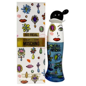 MOSCHINO SO REAL 奧莉薇女性淡香水 EDT 50ML (正)