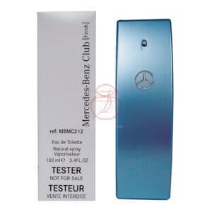 Mercedes Benz 賓士 自由藍調男性淡香水 Edt 100ml (tester)