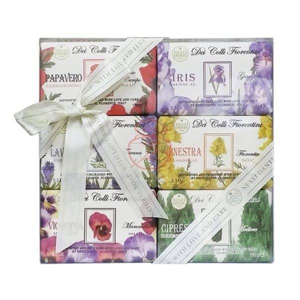 Nesti Dante 義大利手工皂 天然花妍禮盒 150g6入