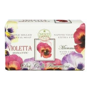 Nesti Dante 義大利手工皂 天然花妍系列 三色堇皂 250g
