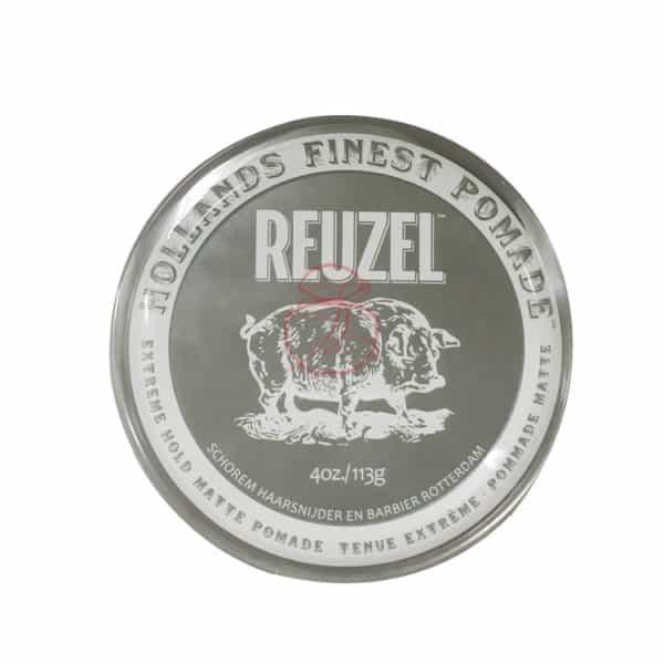 REUZEL 灰豬 極強水泥級無光澤髮蠟 113g