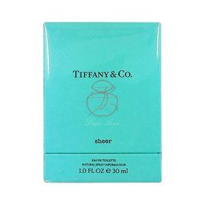 Tiffany _ co. 蒂芬妮 晶淬女性淡香水 EDT 30ML (正) 三代 (2)