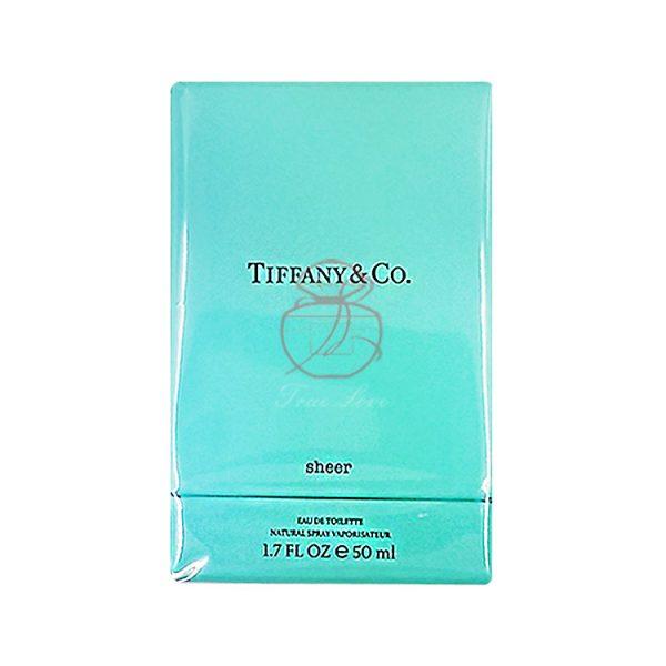 Tiffany _ co. 蒂芬妮 晶淬女性淡香水 EDT 50ML (正) 三代
