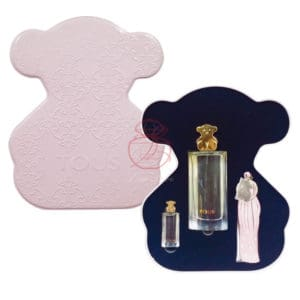 Tous黃金小熊限量版淡香精柔粉珠寶盒
