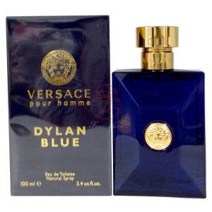 Versace 凡賽斯 狄倫‧正藍男性淡香水 EDT 100ML (正)