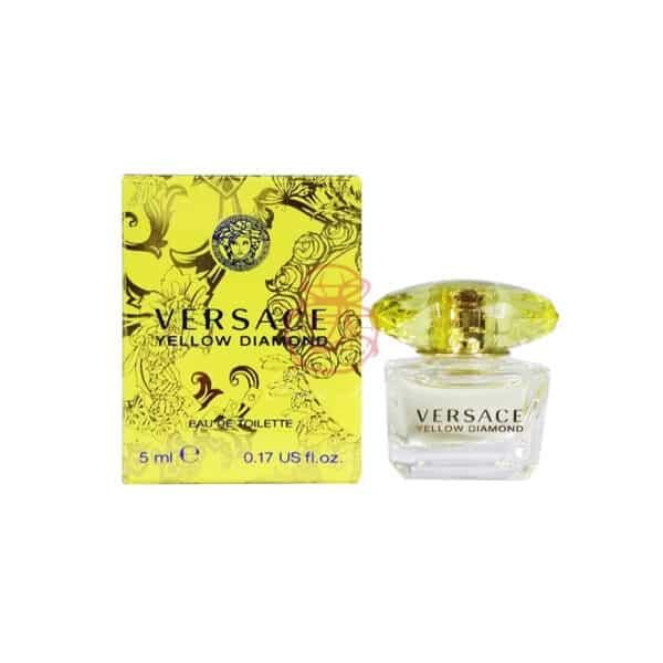Versace 凡賽斯 黃水晶女性淡香水 Edt 5ml (q仔)1 (2)